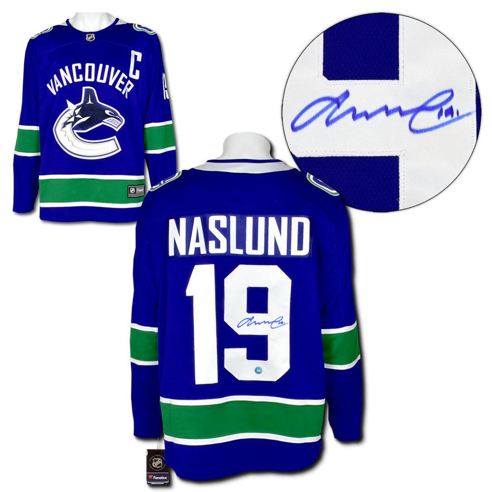 Markus Naslund Vancouver Canucks Autographed Fanatics Hockey Jersey