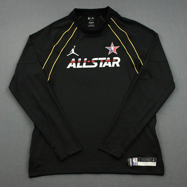 Image of Stephen Curry - Game-Worn 2021 NBA All-Star Long-Sleeved Shooting Shirt