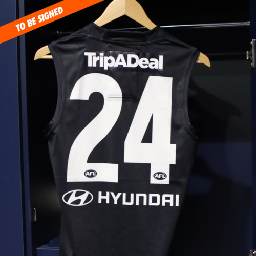 Photo of 2021 AFL Player Guernsey #24 - Nic Newman