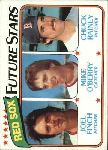 Photo of 1980 Topps #662 Joel Finch/Mike O'Berry RC/Chuck Rainey RC