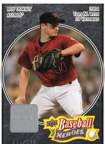 Photo of 2008 Upper Deck Heroes Jersey Black #76 Roy Oswalt