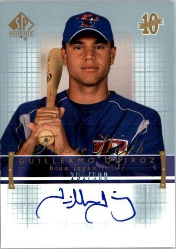 Photo of 2003 SP Authentic #185 G.Quiroz FW AU RC
