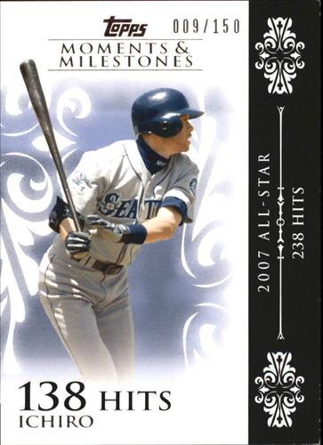 Photo of 2008 Topps Moments and Milestones #63-138 Ichiro Suzuki