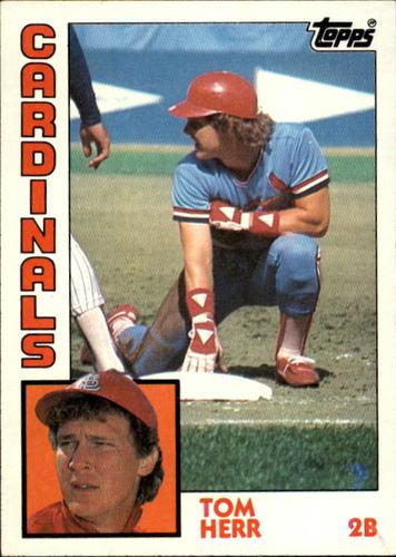 Photo of 1984 Topps #649 Tom Herr