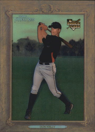 Photo of 2007 Topps Turkey Red Chrome Refractors #97 Don Kelly