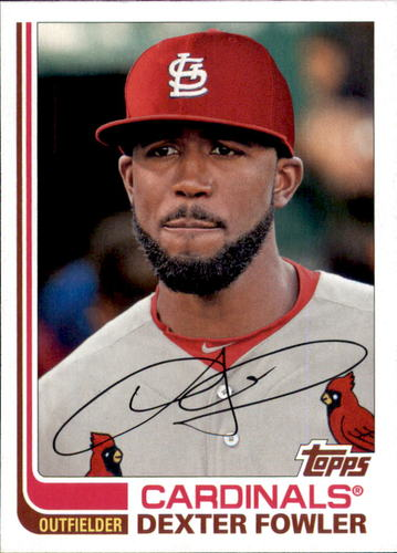 Photo of 2017 Topps Archives #120 Dexter Fowler