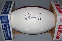 NFL - REDSKINS JAMISON CROWDER SIGNED PANEL BALL
