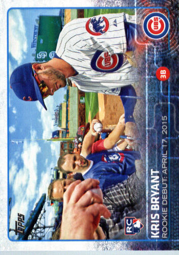 Photo of 2015 Topps Update #US283 Kris Bryant Rookie Card