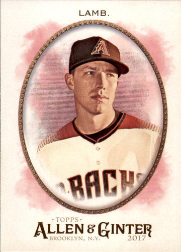 Photo of 2017 Topps Allen and Ginter #233 Jake Lamb