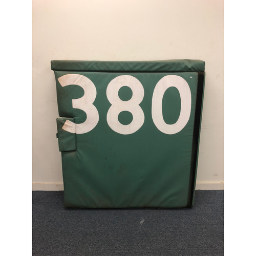 Photo of Fenway Park 380' Outfield Wall Padding - Local Pickup Only