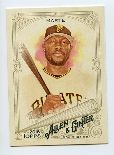 Photo of 2018 Topps Allen and Ginter #224 Starling Marte