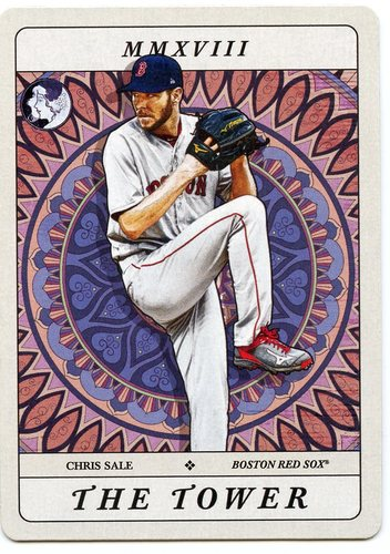 Photo of 2018 Topps Gypsy Queen Tarot of the Diamond #TOD15 Chris Sale