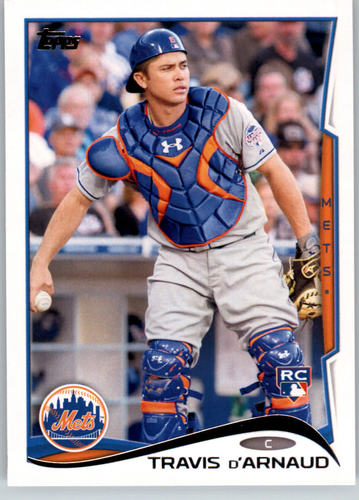 Photo of 2014 Topps #248 Travis d'Arnaud Rookie Card