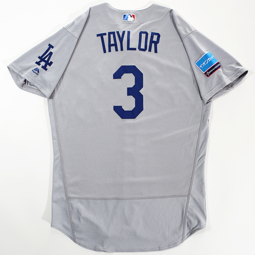 Photo of 2018 Japan Series Game-Used Jersey - Chris Taylor - Size 46