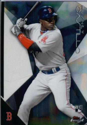 Photo of 2015 Finest #60 Rusney Castillo RC