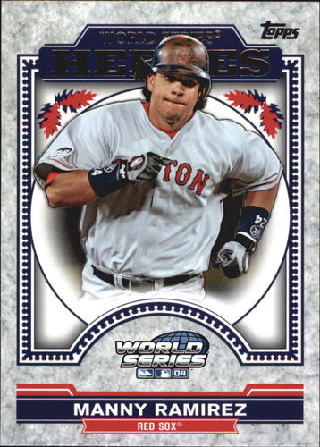 Photo of 2014 Topps Update World Series Heroes #WSHMRA Manny Ramirez