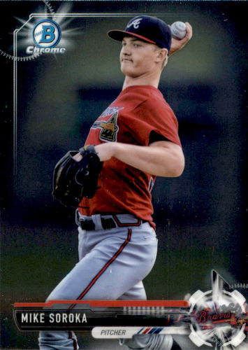 Photo of 2017 Bowman Chrome Prospects #BCP5 Mike Soroka