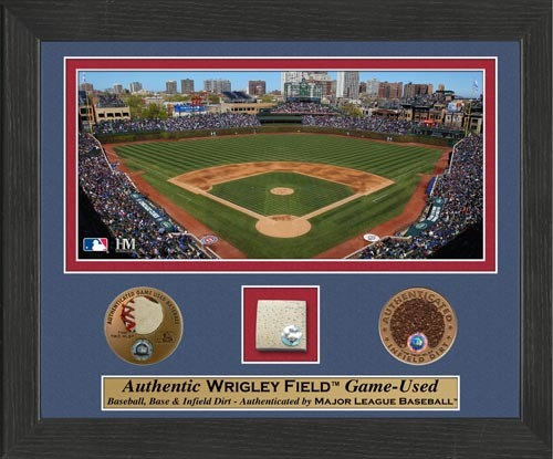 Photo of Wrigley Field Plaque