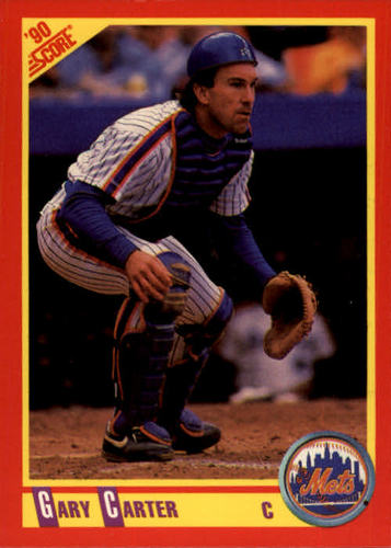 Photo of 1990 Score #416 Gary Carter