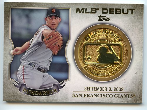 Photo of 2016 Topps MLB Debut Medallion #MLBDM213 Madison Bumgarner