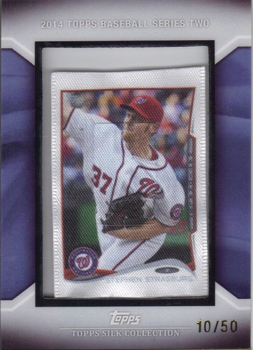 Photo of 2014 Topps Silk Collection #172 Stephen Strasburg S2