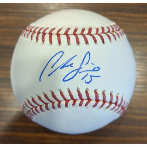 Chance Sisco - Autographed Baseball