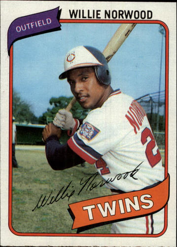 Photo of 1980 Topps #432 Willie Norwood