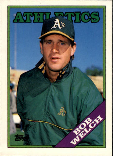 Photo of 1988 Topps Traded #127T Bob Welch