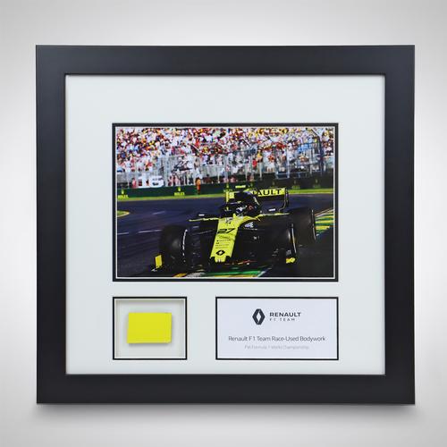 Photo of Race-used Bodywork & Photo - Renault F1 Team