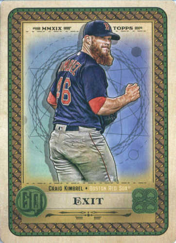 Photo of 2019 Topps Gypsy Queen Tarot of the Diamond #4 Craig Kimbrel