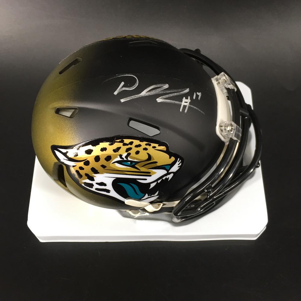 NFL - Jaguars D. J. Chark Signed Mini Helmet