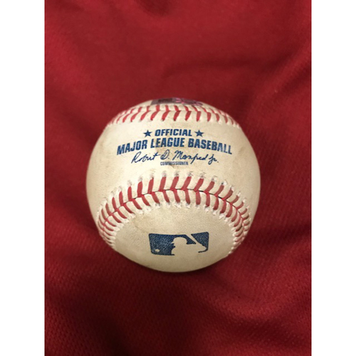 2020 Game-Used Home Run Ball: 8/5/20 Astros at Diamondbacks, George Springer homered off of Robbie Ray