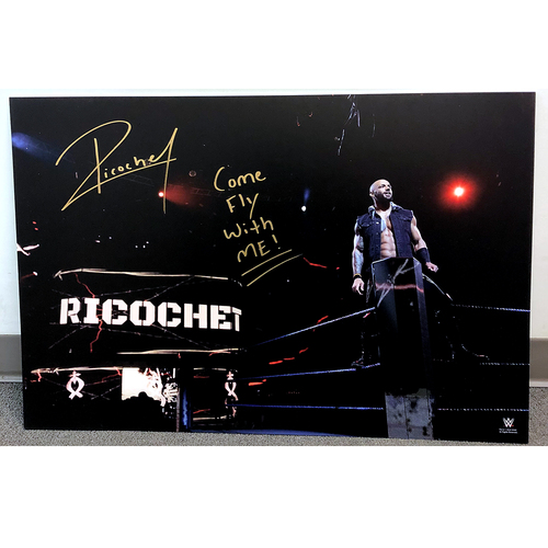 Photo of Ricochet SIGNED large photo print (Come Fly With Me)