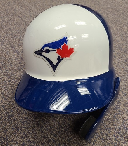 Photo of Authenticated Team Issued Panel Helmet: Left Ear Flap with Face Shield (for Right Handed Batters) - - Choose your size!