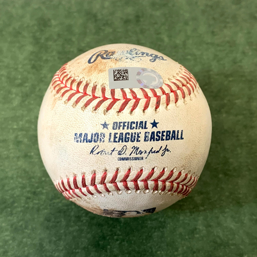 Photo of Game-Used Baseball (Ends Walker Buehler's No Hitter) - David Peralta Single, Nick Ahmed Single, Pavin Smith Strikeout vs. Walker Buehler - Dodgers @ D-backs 6/19/2021