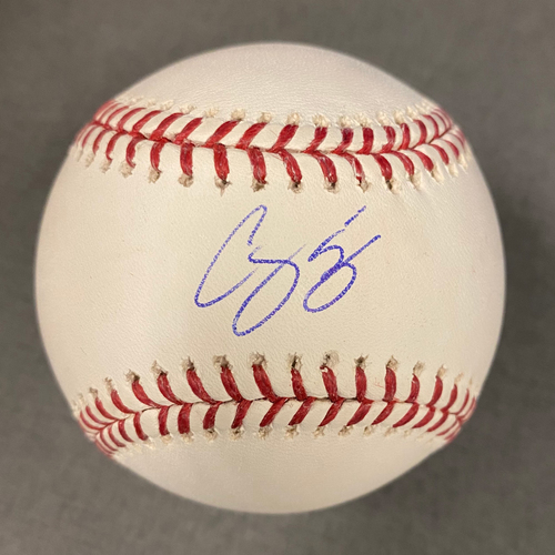 Photo of Corey Seager Authentic Autographed Baseball