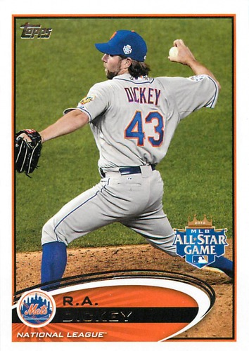Photo of 2012 Topps Update #US284 R.A. Dickey