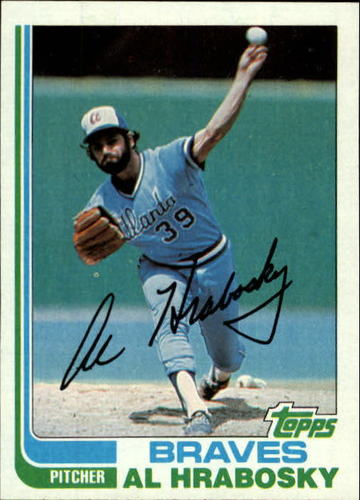 Photo of 1982 Topps #393 Al Hrabosky