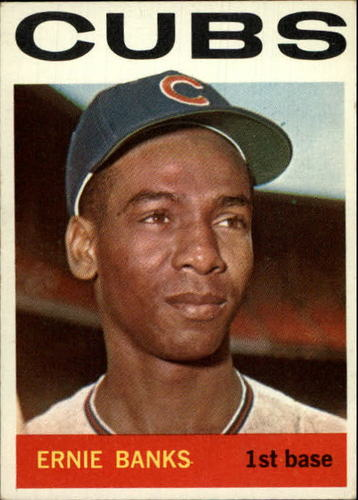 Photo of 1964 Topps #55 Ernie Banks