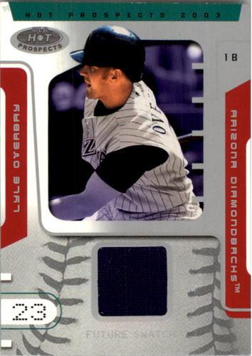 Photo of 2003 Hot Prospects #90 Lyle Overbay FS Jsy
