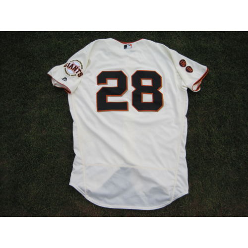 size 40 25878 00d71 MLB Auctions | San Francisco Giants Buster Posey Game-Used ...
