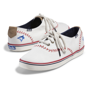 Toronto Blue Jays Women's Baseball Sneakers White by Keds