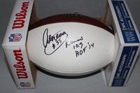 NFL - RAMS AENEAS WILLIAMS SIGNED PANEL BALL