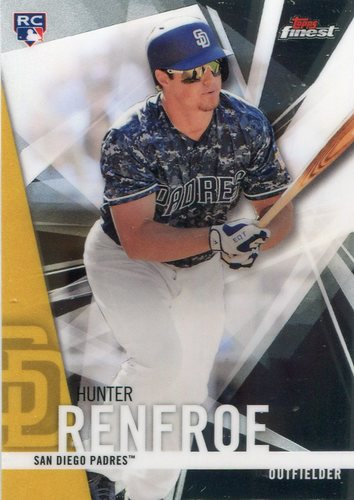 Photo of 2017 Finest #87 Hunter Renfroe RC