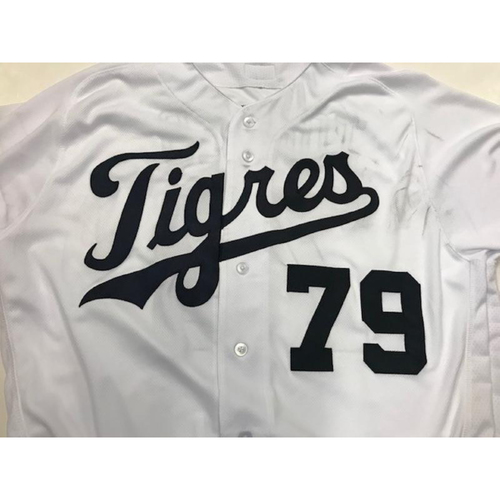 Photo of Team-Issued Detroit Tigers #79 Fiesta Tigres Jersey