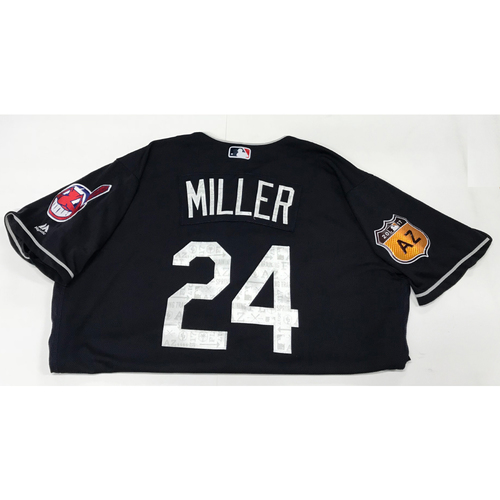 Photo of Andrew Miller 2017 Spring Training Jersey