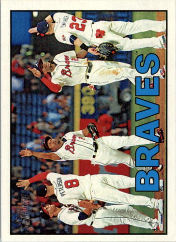 Photo of 2016 Topps Heritage #356 Atlanta Braves