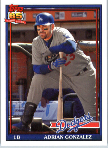 Photo of 2016 Topps Archives #269 Adrian Gonzalez