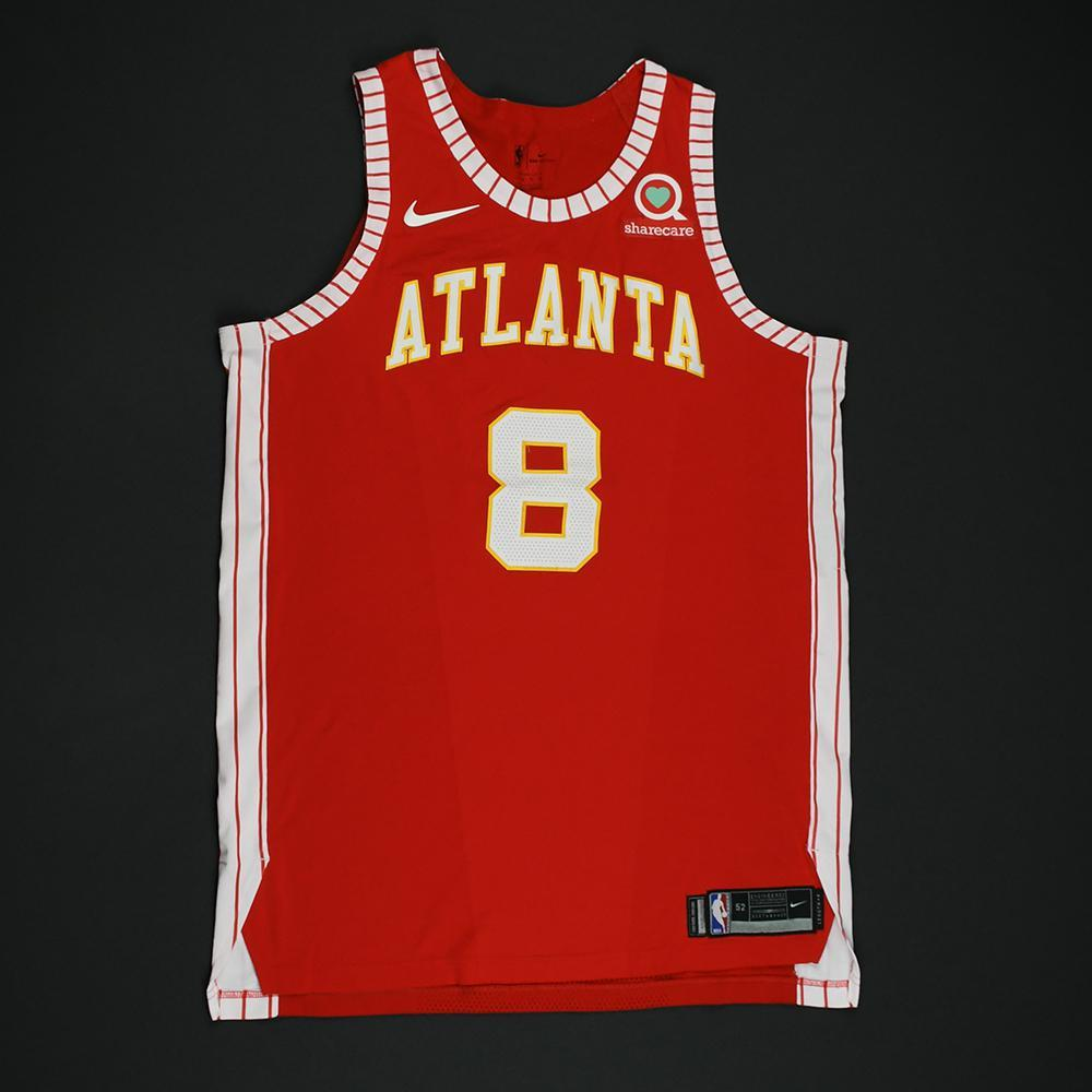 Luke Babbitt - Atlanta Hawks - Game-Worn Classic Edition 1970-72 Road Style Jersey - 2017-18 Season