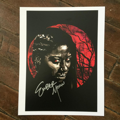 Ember Moon SIGNED 11 x 14 Rob Schamberger Print